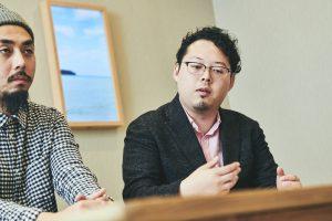 自動車Div.・TCV プロジェクトマネージャー・エンジニア 永井達也、海外セールス 現地法人管理 若井直大