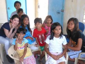 リジョブ「咲くらプロジェクト」フィリピンでの様子